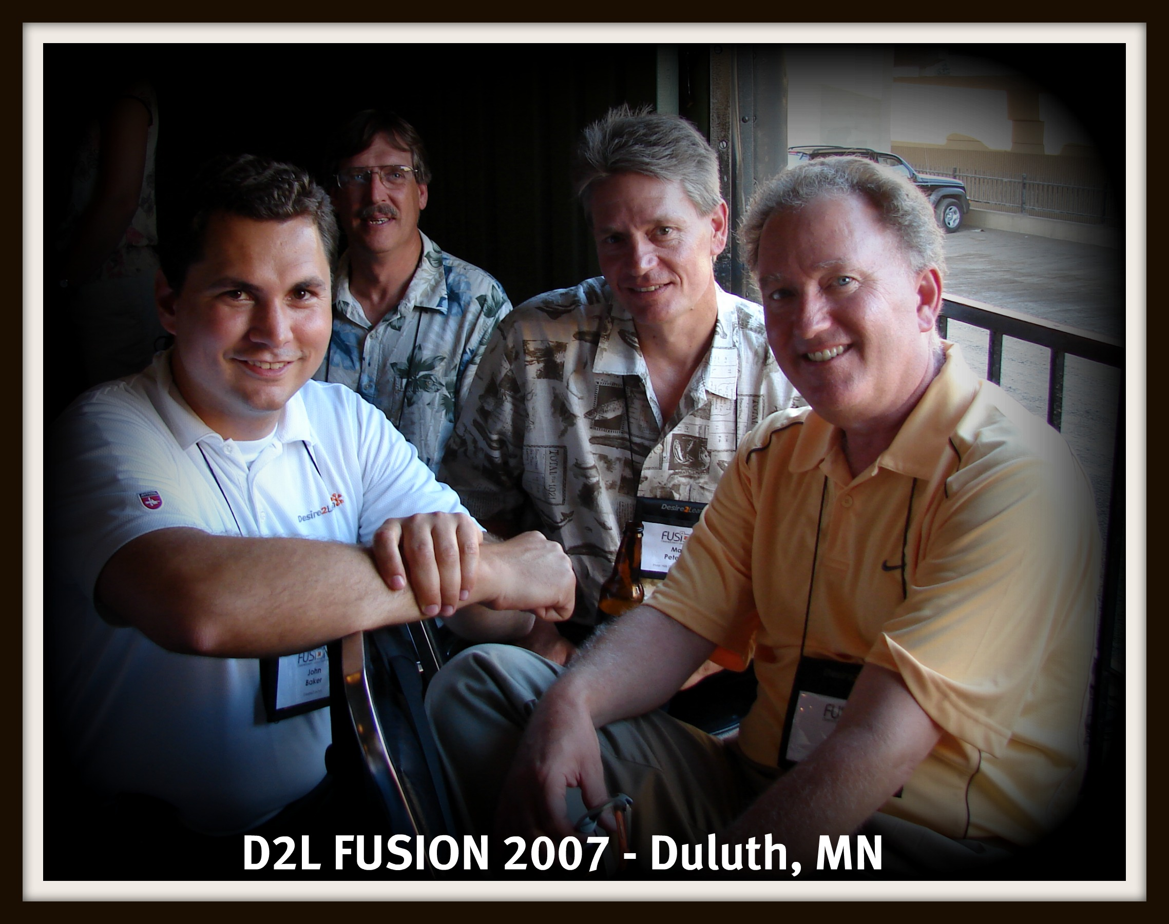 John Baker and Barry Dahl at FUSION 2007