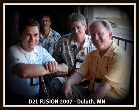 John Baker and Barry Dahl at FUSION 2007