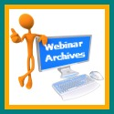 Links to webinar archives