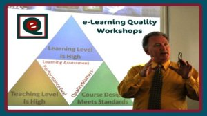 Barry Dahl presenting an e-Quality workshop